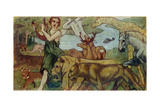 Orpheus and the Animals, 1907 Giclee Print by Franz Marc