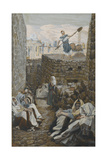 He Who Winnows His Wheat from 'The Life of Our Lord Jesus Christ' Giclee Print by James Jacques Joseph Tissot