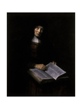 Old Women with Book Giclee Print by Nicolaes Maes