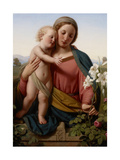 Madonna and Child, 1855 Giclee Print by Franz Ittenbach