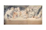Leonardo Da Vinci's Last Supper Giclee Print by Pieter Claesz Soutman