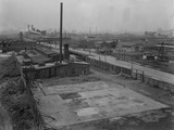 U.S. Metal Products Company Plant, Borden Avenue and Newtown Creek, Queens, New York, Aug 26, 1914 Photographic Print by William Davis Hassler