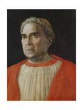 Cardinal Lodovico Trevisano, 1459 Giclee Print by Andrea Mantegna