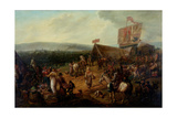 Fair on the Town Moor, Newcastle, C.1810 Giclee Print by John Glen Wilson