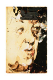 Margaret Rutherford (1892-1972) 1989 Giclee Print by Horst Janssen