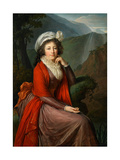 Portrait of Countess Maria Theresia Bucquoi, 1793 Giclee Print by Elisabeth Louise Vigee-LeBrun