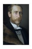 Hans Albert Von Der Gabelentz-Linsingen Giclee Print by Berthold Woltze