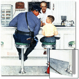 """Runaway"", September 20,1958 Prints by Norman Rockwell"
