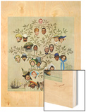 """Family Tree"", October 24,1959 Wood Print by Norman Rockwell"