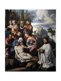 Lamentation of Christ with a Donor, C. 1535 Giclee Print by Jan van Scorel