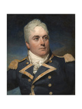 A Portrait Miniature of Captain Alexander Skene Wearing Naval Uniform Giclee Print by Andrew Robertson
