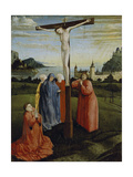 Christ on the Cross, C.1430-33 Giclee Print by Konrad Witz