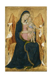 Enthroned Madonna with Child, C.1340 Giclee Print by Lippo Memmi