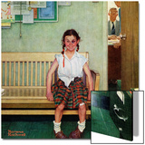 """Shiner"" or ""Outside the Principal's Office"", May 23,1953 Prints by Norman Rockwell"