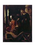 St. Sebastian Tended by St. Irene, C.1649 Giclee Print by Georges de La Tour