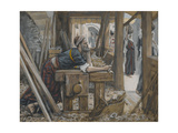The Anxiety of Saint Joseph from 'The Life of Our Lord Jesus Christ' Giclee Print by James Jacques Joseph Tissot