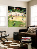 """Sandlot Homerun"", July 6, 1957 Premium Wall Mural by John Falter"
