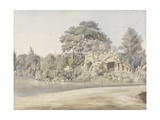 The Grotto, Virginia Water Giclee Print by Thomas Sandby