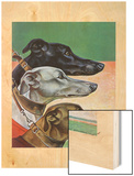 """""""Greyhounds,"""" March 29, 1941 Wood Print by Paul Bransom"""