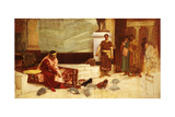 The Favourites of the Emperor Honorius (Ad 384-423) Giclee Print by John William Waterhouse