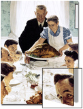 """Freedom From Want"", March 6,1943 Prints by Norman Rockwell"