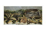 Still Life with Fish, 1886 Giclee Print by Giovanni Segantini