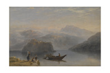 Lago Maggiore, C.1860 Giclee Print by James Baker Pyne