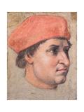Portrait of a Cardinal, C.1513-20 Impression giclée par  Raphael