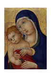 Madonna and Child, C.1450 Giclee Print by  Sano di Pietro
