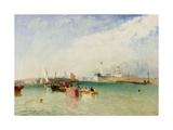 The Harbour, Littlehampton, 1851 Giclee Print by James Baker Pyne