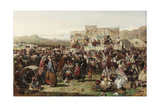 A Border Fair, C.1865 Giclee Print by John Ritchie