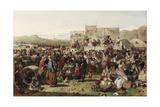 A Border Fair, C.1865 Giclee Print by John Ritchie