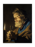 The Penitant Peter Giclee Print by Matthias Stomer
