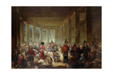 The Old Fish Market, Sandhill, Newcastle Upon Tyne, C.1826-30 Giclee Print by Henry Perlee Parker