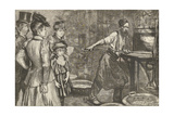 Annealing Furnace at Tower Hill, from the Graphic, 1895 Giclee Print by Charles Paul Renouard