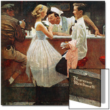 """After the Prom"", May 25,1957 Prints by Norman Rockwell"