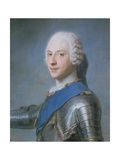 Prince Charles Edward Stewart, 1720-88 Giclee Print by Maurice Quentin de La Tour