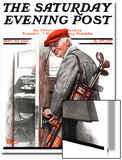"""Important Business"" Saturday Evening Post Cover, September 20,1919 Poster von Norman Rockwell"