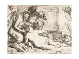 Silenus at the Wine Vat, 1628 Giclée-tryk af Jusepe de Ribera
