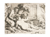 Silenus at the Wine Vat, 1628 Giclee Print by Jusepe de Ribera