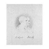 Profile Portraits of Wellington and Blücher, 1817 Giclee Print by George Jones