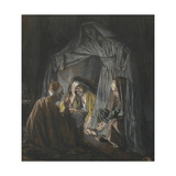 Two or Three Gathered in My Name from 'The Life of Our Lord Jesus Christ' Giclee Print by James Jacques Joseph Tissot