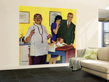 """""""Baby's First Shot,"""" March 3, 1962 Wall Mural – Large by Richard Sargent"""