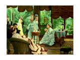 In the Conservatory (The Rivals), 1875-8 Giclee Print by James Jacques Joseph Tissot