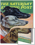 """Greyhounds,"" Saturday Evening Post Cover, March 29, 1941 Poster von Paul Bransom"