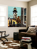 """Lighthouse Keeper"", June 26, 1954 Wall Mural by Stevan Dohanos"