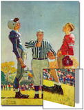 """Coin Toss"", October 21,1950 Posters by Norman Rockwell"