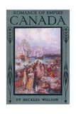 Front Cover of Romance of Canada, C.1920 Giclee Print by Henry Sandham