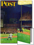 """Yankee Stadium,"" Saturday Evening Post Cover, April 19, 1947 Posters by John Falter"