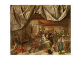 The Brewery of Jan Steen Giclee Print by Jan Havicksz. Steen